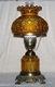 "18"" Amber Table Lamp"