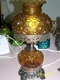"16"" Amber Table Lamp"