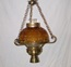 "10"" Amber ceiling Light"