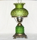 "18"" Green table Lamp"
