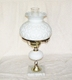 "18"" Opal Table Lamp"